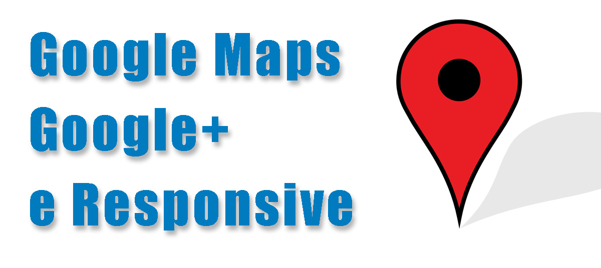 google maps, google plus, responsive,