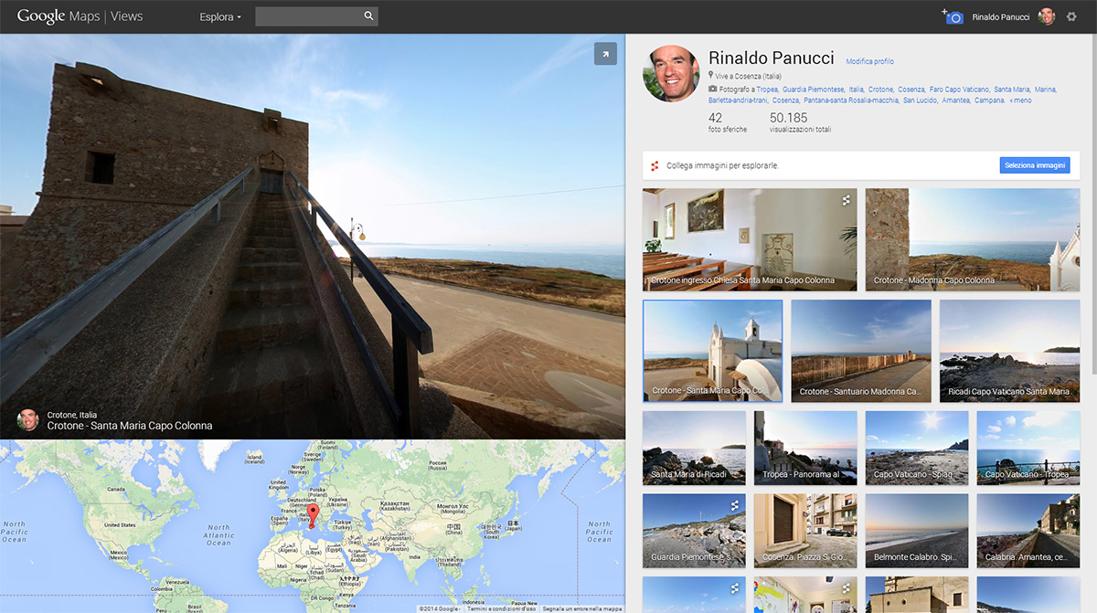 google maps views, fotografia 360, virtual tour,