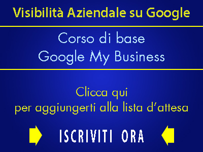 newsletter, corso, google my business,
