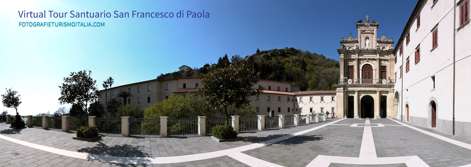 Fotografia 360, virtual tour San Francesco di Paola.